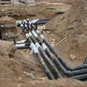 Строительство сетей инженерных. фото