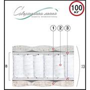 Матрац пружинный Коралл 200х140 фото