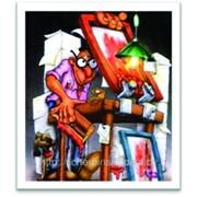 Трафаретная и тампонная печать. фото