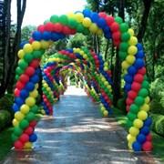 Гирлянда из воздушных шаров в Гомеле фото
