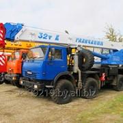 Аренда автокрана КС 55729-5B «Галичанин» фото