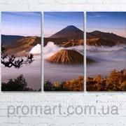 Модульна картина на полотні Вулкан Бромо. Індонезія код КМ6090-104 фото