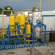 Осушка природного газа (метан)