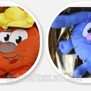Производство Корпоративных игрушек: Игрушки с логотипом, Подушки с сублимацией фото