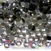 Стразы ДМС (Премиум) Сrystal ss6 (1,9-2mm) Горячая фиксация. Упаковка 100шт фото