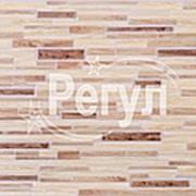 Листовая панель ПВХ Декоративный брус Дуб 960*480мм, толщина 0,4 мм фото