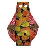 Упаковка в полимерные сетки овощей и фруктов фото