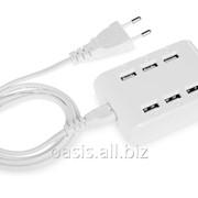 USB Hub Powertech на 6 портов фото