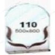 Зеркало (500*800мм, 1 полка) (110) №134650 фото