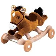Чудокачалка - Поющий пони коричневый, розовый Kiddieland фото