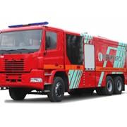 Автоцистерна пожарная КрАЗ Н23.2 (АЦ 13-70) фото