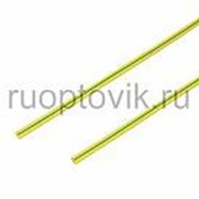 1. 5 / 0. 75 мм 1м термоусадка желто-зеленая REXANT фото