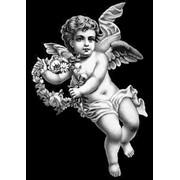 Гравировка Ангелочек фото