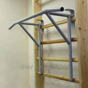 Турник-брусья на гимнастическую стенку (навесной) фото