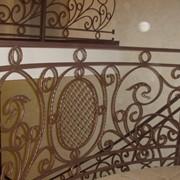 Кованые ограждения для лестниц, балконов фото