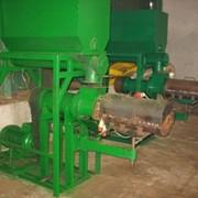 Пресс (экструдер) для изготовления топливных брикетов ПБ-400 фото