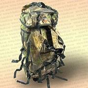 Рюкзак рыбака и туриста, камуфлированный 90 л фото