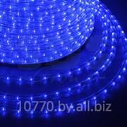 Дюралайт светодиодный, эффект мерцания(2W), синий, 220В, диаметр 13 мм, бухта 100м, NEON-NIGHT фото