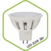 Лампа LED-JCDR 7.5 Вт. 220 В. фото
