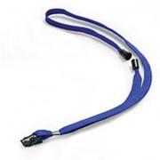 Держатель-шнур для бейджа Durable , 44см, с клипом, 10шт/уп, синий 8119-07 фото