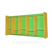 Шкафчик для детских полотенец фото