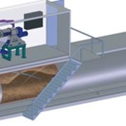 Фильтрационно-сушильная установка для производства (восстановления из навоза) подстилки для КРС. фото