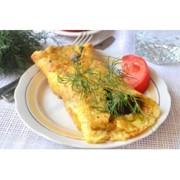 Доставка блюд домашней кухни - Омлет с грибами фото