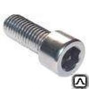 Винт 10х30 мм оцинкованный кл.пр.8.8 ГОСТ 11738, DIN 912 фото