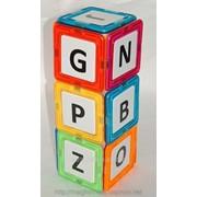Кубики английска абетка magformers фото