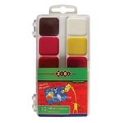 Краски акварельные 10цв Zibi ZB.6520 фото