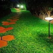 Ландшафтная подсветка фото