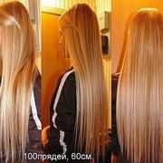 Микронаращивание волос фото