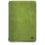 Чехол-обложка Smart Cover зеленый крокодил с крышкой для Apple iPad Mini фото