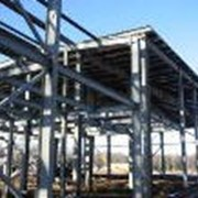 Монтаж металлоконструкций каркасов зданий фото