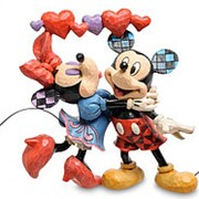 "Статуэтка ""Микки и Минни Маус"" 18,5х16х7см. арт.4046038 Disney фото"