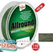 Allround Braided Fishing Line (green), 0,20mm, 19,02kg, 110m фото