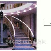 Лестница из натурального камня фото