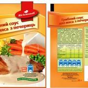 Грибной соус для мяса с шампиньонами фото
