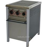 Плита електрична промислова АРМ-ЕКО ПЕ-2Ш енергозберігаюча, нержавійка фото