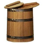 Кадка дубовая для солений 30 л. фото