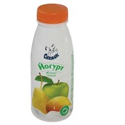 Йогурт питьевой с яблоком и грушей 1,5%, 330г фото