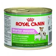 Starter Mousse Royal Canin корм для щенков всех размеров в период отъема до 2-месячного возраста, Ба фото