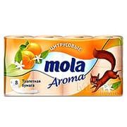 Туалетная бумага Mola (Lotus) Арома 2-сл.(8рул/упак) (5упак/пак) фото