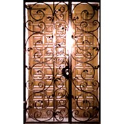 Ворота подвесные фото