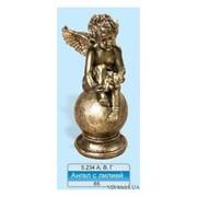 Ангел с лилией (код 15973) фото