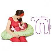 Антистрессовая подушка для кормления U-образная фото