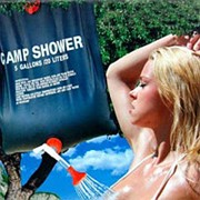 Душ для дачи с подогревом Camp Shower фото
