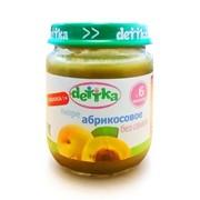 Пюре абрикосовое «dettka» без сахара 0,100 л фото