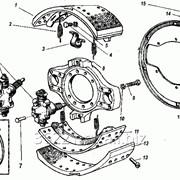 Тормоз передний левый ПАЗ-3204 кол.160мм модель 16-3501011-110АН фото