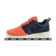 Кроссовки Nike Roshe Run HYP QS 3M Orange / Blue арт. 23343 фото